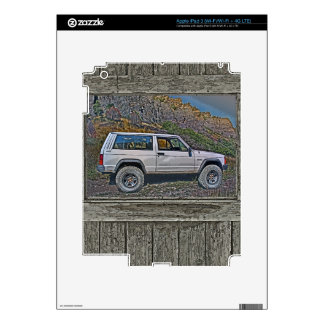 Armed off road 2A Decal For iPad 3