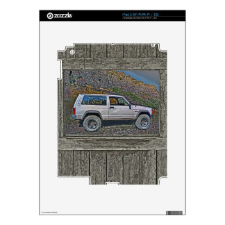 Armed off road 2A iPad 2 Decal