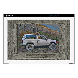 Armed off road 2A Laptop Skin