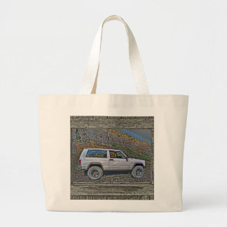 Armed off road 2A Large Tote Bag