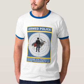 ARMED POLICE SHIRT