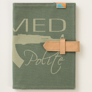 Armed & Polite, Canvas Journal