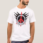 Armed Polite Society - Red and Blue T-Shirt