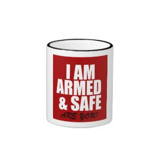 Armed & Safe Mug Coffee Mug