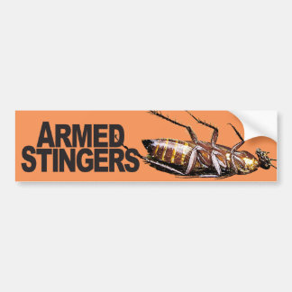 Armed Stingers - Bumper Sticker