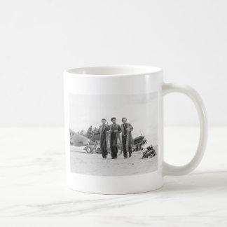 Armed to the Teeth, 1940s Classic White Coffee Mug