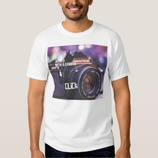 ARMED: With a Camera T-Shirt