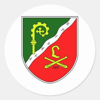Armelabzeichen Stabs- und Divisionstruppen der 3 Sticker