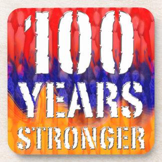 Armenia 100 Years Stronger Anniversary Drink Coaster