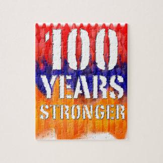 Armenia 100 Years Stronger Anniversary Jigsaw Puzzle