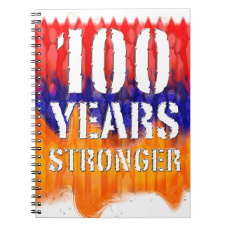 Armenia 100 Years Stronger Anniversary Notebook