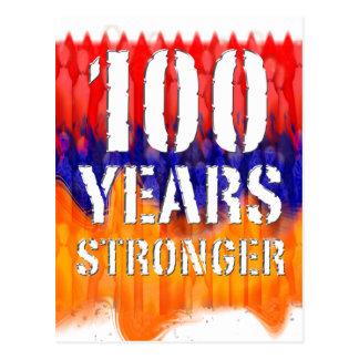 Armenia 100 Years Stronger Anniversary Postcard
