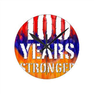 Armenia 100 Years Stronger Anniversary Round Clock