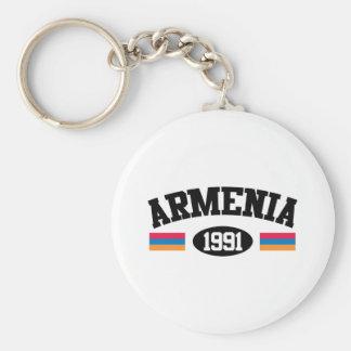 Armenia 1991 llavero redondo tipo pin