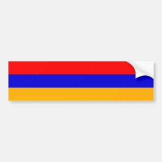 Armenia/Armenian Flag Car Bumper Sticker