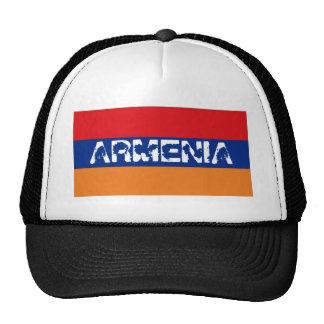 Armenia armenian flag trucker mesh souvenir hat