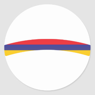Armenia / Arménie Classic Round Sticker