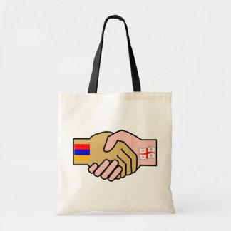 Armenia bandera de Georgia, Armenia Bolsas De Mano