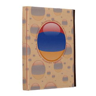 Armenia Bubble Flag iPad Folio Case