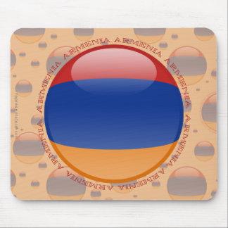 Armenia Bubble Flag Mouse Pad