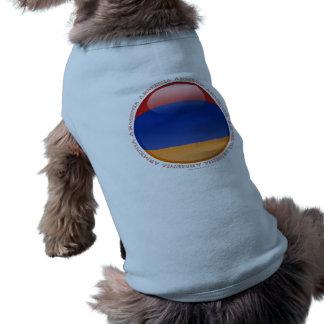 Armenia Bubble Flag Shirt