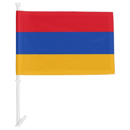 Armenia Car Flag