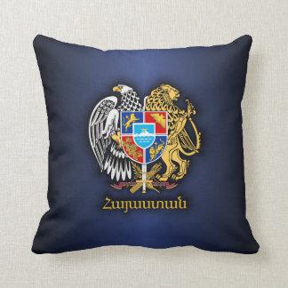 Armenia COA 2 Throw Pillow