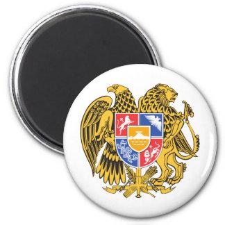Armenia Coat of arm AM 2 Inch Round Magnet