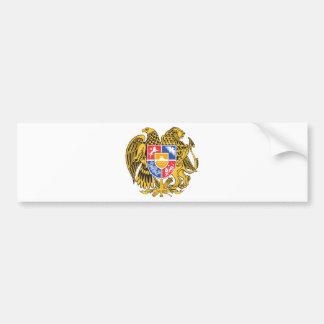 Armenia Coat of arm AM Bumper Sticker
