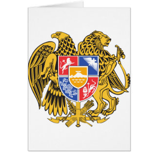 Armenia Coat of arm AM Card