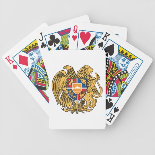 Armenia Coat Of Arms Bicycle Playing Cards