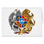 Armenia Coat of Arms Card
