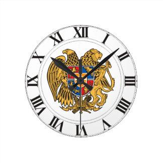 Armenia Coat of Arms Wall Clocks