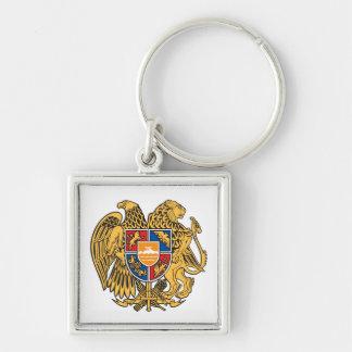 Armenia Coat of Arms Keychain