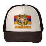 Armenia Coat of Arms Mesh Hats