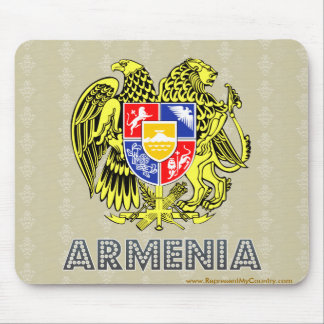 Armenia Coat of Arms Mouse Pad