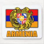Armenia Coat of Arms Mousepads