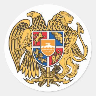 Armenia Coat of Arms Sticker