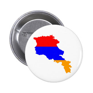 armenia country flag map shape symbol button
