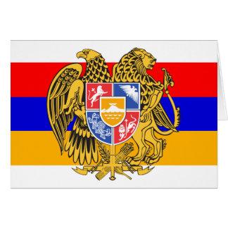 armenia emblem card