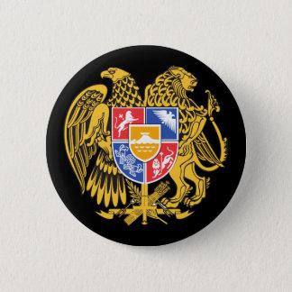 armenia emblem pinback button