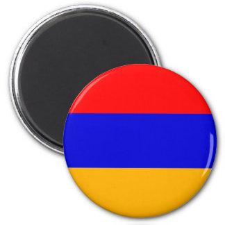 Armenia Flag AM 2 Inch Round Magnet