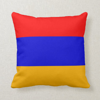 Armenia Flag American MoJo Pillow