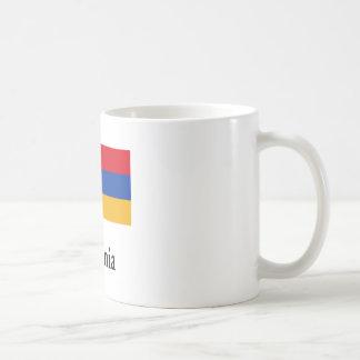 Armenia Flag And Name Classic White Coffee Mug