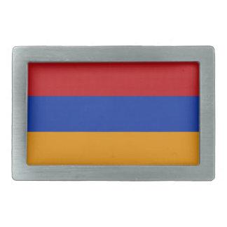 Armenia flag belt buckle