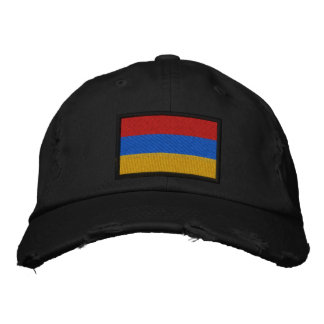 Armenia Flag Embroidered Baseball Cap