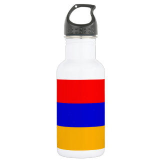 Armenia Flag Liberty Bottle 18oz Water Bottle