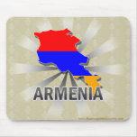 Armenia Flag Map 2.0 Mouse Pad