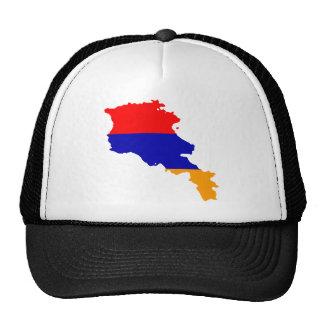 Armenia Flag map AM Mesh Hats
