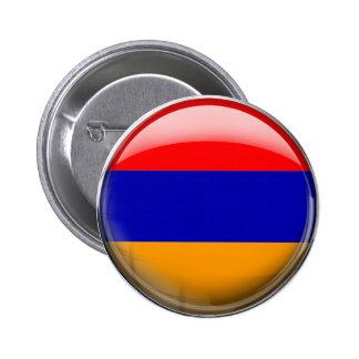 Armenia Flag Pinback Button